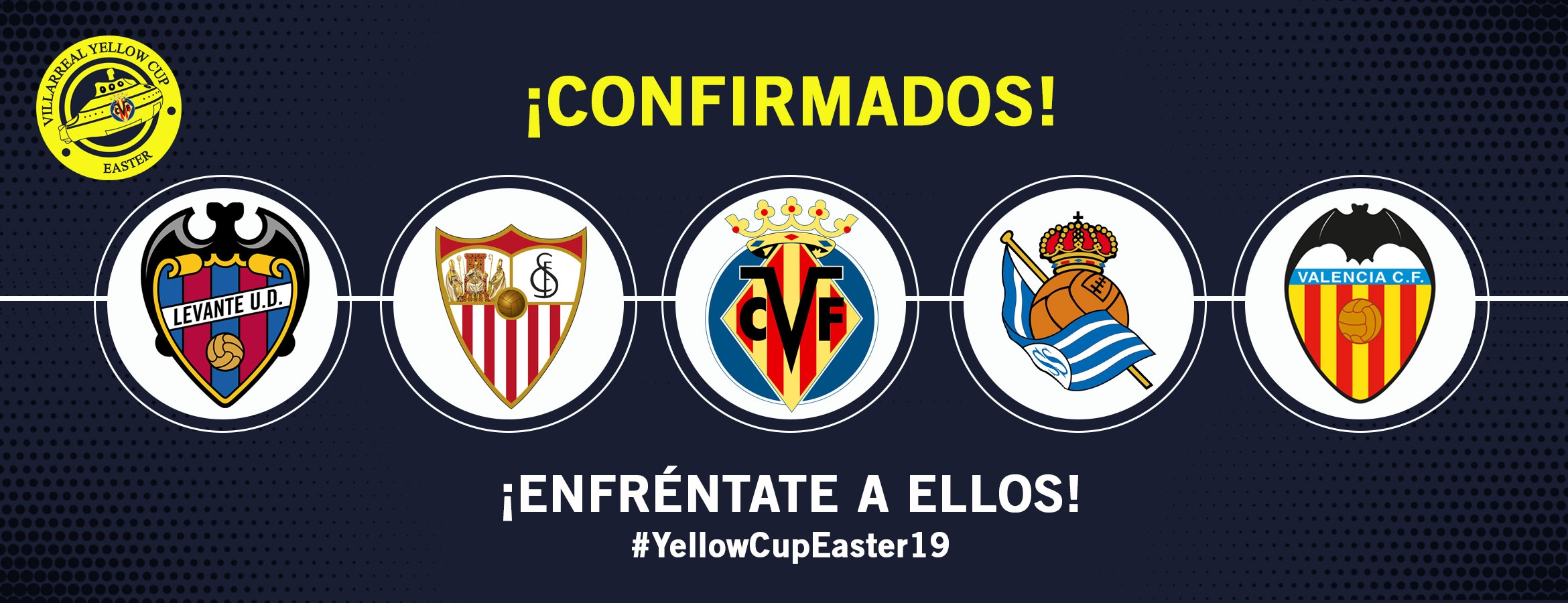 CARTEL DE NIVEL EN LA YELLOW CUP EASTER