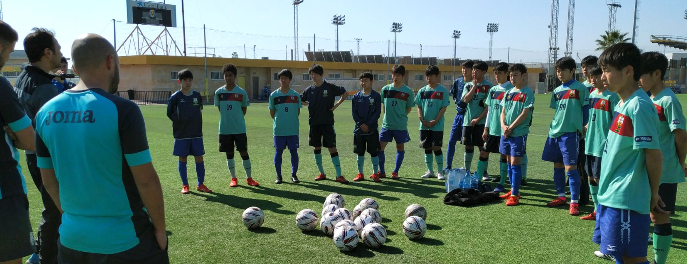 EL SCH FOOTBALL CLUB COMPLETA SU TRAINING CAMP