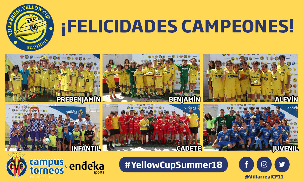 FINAL COLOSAL PARA LA YELLOW CUP SUMMER