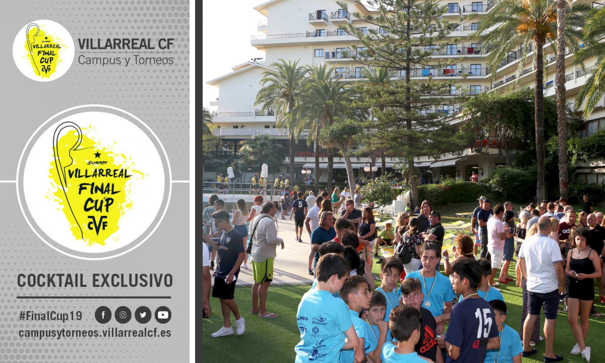 COCKTAIL EXCLUSIVO VILLARREAL FINAL CUP